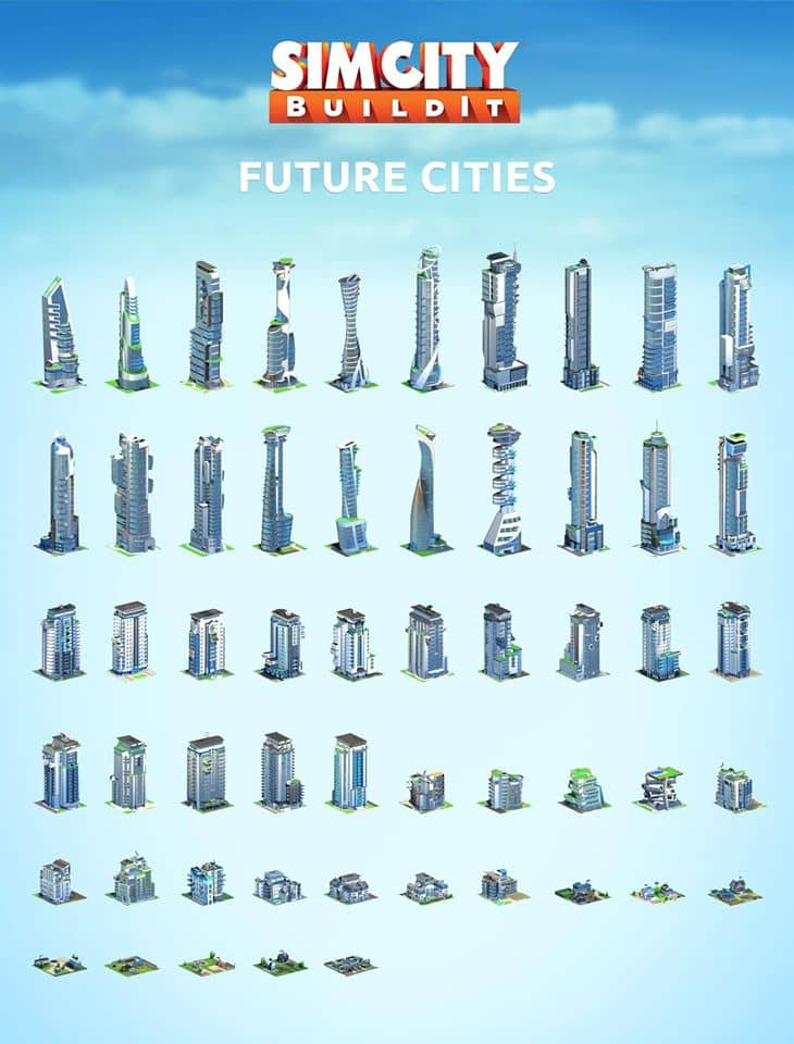 Future Cities SimCity BuildIt