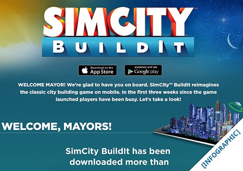 SimCity BuildIt - 15 Million Downloads in 3 Weeks!