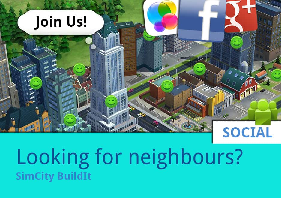 Looking for neighbours? SimCity BuildIt Group List