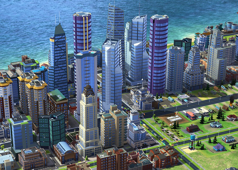How do you get skyscrapers and high populations | SimCity BuildIt