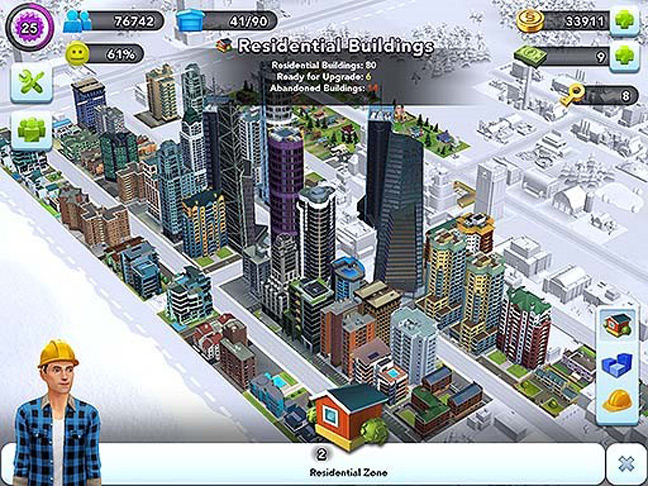 Skyscrapers in SimCityBuildIt